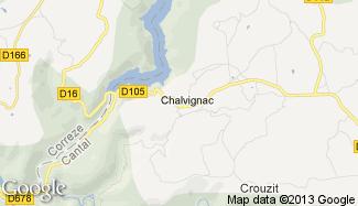 Plan de Chalvignac