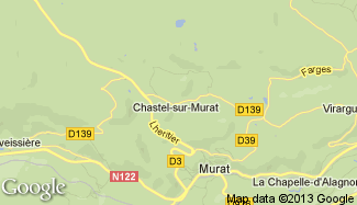 Plan de Chastel-sur-Murat
