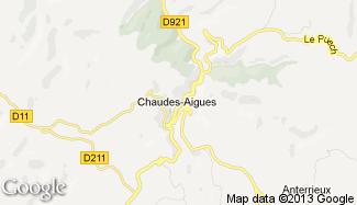 Plan de Chaudes-Aigues