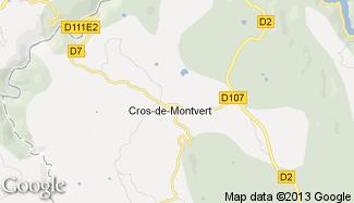 Plan de Cros-de-Montvert
