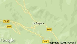 Plan de Le Falgoux