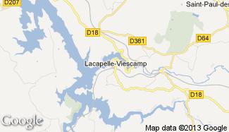 Plan de Lacapelle-Viescamp
