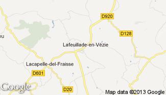 Plan de Lafeuillade-en-Vézie