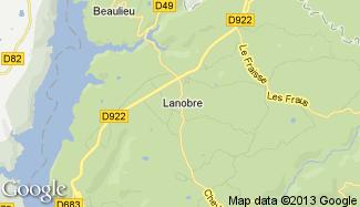 Plan de Lanobre