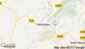 Plan de Lapeyrugue