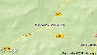 Plan de Mandailles-Saint-Julien