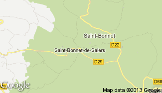 Plan de Saint-Bonnet-de-Salers
