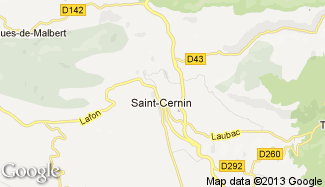 Plan de Saint-Cernin