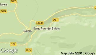 Plan de Saint-Paul-de-Salers