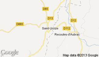 Plan de Saint-Urcize