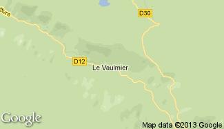 Plan de Le Vaulmier