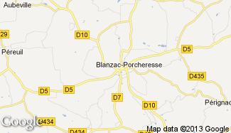 Plan de Blanzac-Porcheresse