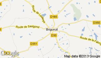 Plan de Brigueuil