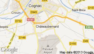 Plan de Châteaubernard
