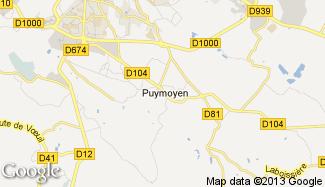 Plan de Puymoyen