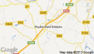 Plan de Roullet-Saint-Estèphe