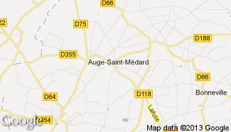 Plan de Auge-Saint-Médard