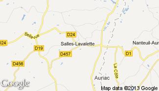 Plan de Salles-Lavalette
