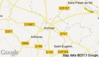 Plan de Archiac
