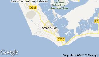 Plan de Ars-en-Ré