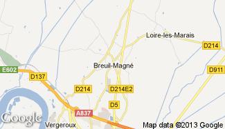 Plan de Breuil-Magné