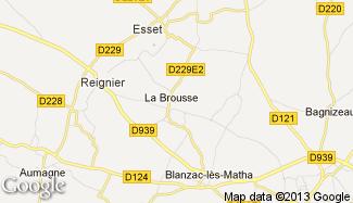 Plan de La Brousse