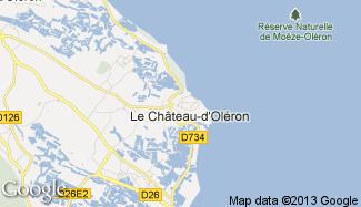 Plan de Le Château-d'Oléron