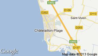 Plan de Châtelaillon-Plage