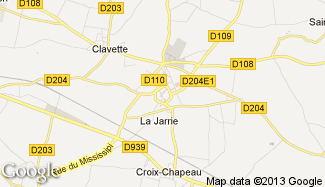 Plan de La Jarrie