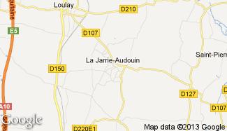 Plan de La Jarrie-Audouin