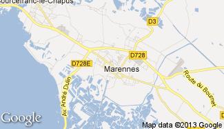 Plan de Marennes