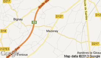 Plan de Mazeray
