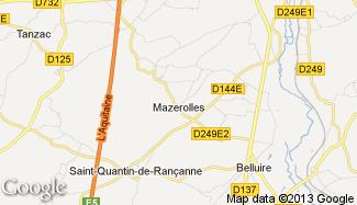 Plan de Mazerolles