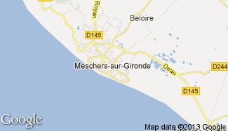 Plan de Meschers-sur-Gironde