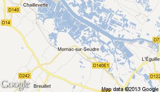 Plan de Mornac-sur-Seudre