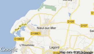 Plan de Nieul-sur-Mer