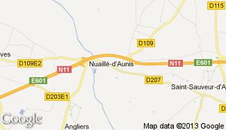 Plan de Nuaillé-d'Aunis
