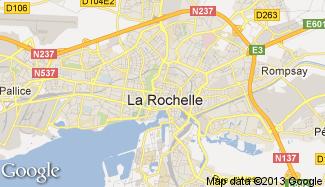 Plan de La Rochelle