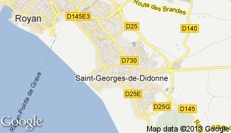 Plan de Saint-Georges-de-Didonne