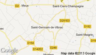 Plan de Saint-Germain-de-Vibrac
