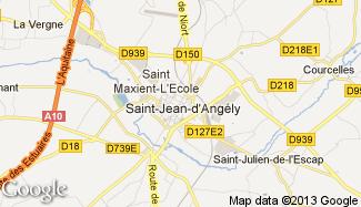 Plan de Saint-Jean-d'Angély