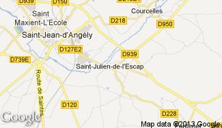 Plan de Saint-Julien-de-l'Escap