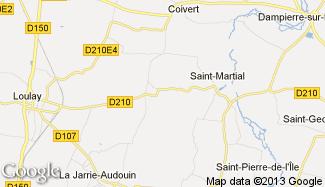 Plan de Saint-Martial