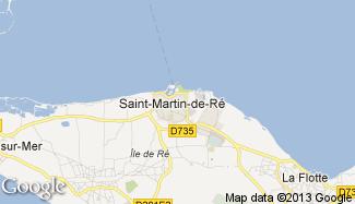 Plan de Saint-Martin-de-Ré