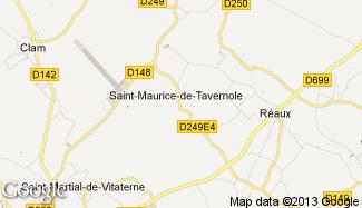 Plan de Saint-Maurice-de-Tavernole