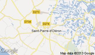 Plan de Saint-Pierre-d'Oléron