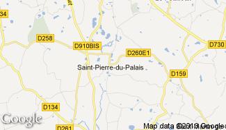 Plan de Saint-Pierre-du-Palais