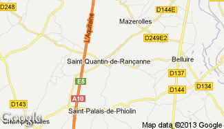 Plan de Saint-Quantin-de-Rançanne