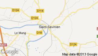 Plan de Saint-Savinien
