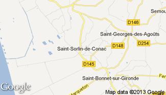 Plan de Saint-Sorlin-de-Conac